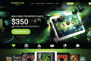 Gaming Club home