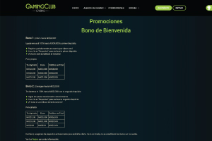 Gaming Club Bono