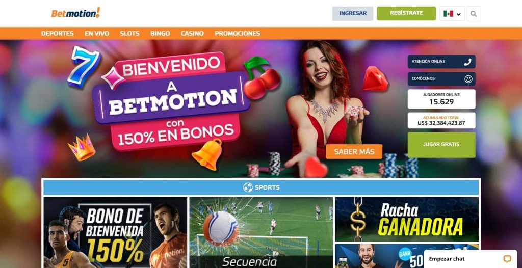 betmotion home